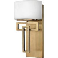 Hinkley 5100BR-LED Lanza LED 7 inch Brushed Bronze Bath Sconce Wall Light