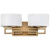 Lanza LED 17 inch Brushed Bronze Vanity Light Wall Light