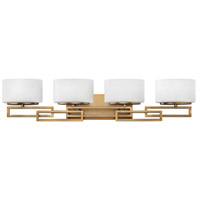 Lanza LED 34 inch Brushed Bronze Vanity Light Wall Light