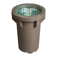 Hinkley 51070BZ Signature 12V 70 watt Bronze Well Light, Line Volt