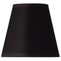 Hinkley 5122BK Virginian Black 5 inch Shade