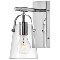 Hinkley 5130CM Foster 1 Light 6 inch Chrome Bath Sconce Wall Light