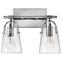 Hinkley Lighting Orb 2 Light Bath Vanity in Chrome 5132CM