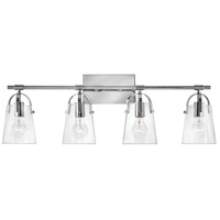 Hinkley Lighting Orb 4 Light Bath Vanity in Chrome 5134CM photo thumbnail