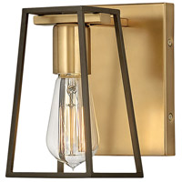 Hinkley 5160HB Filmore 1 Light 7 inch Heritage Brass with Oil Rubbed Bronze Accents Bath Light Wall Light