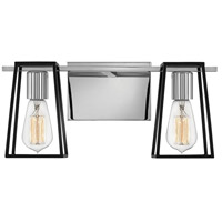 Hinkley 5162CM Filmore 2 Light 16 inch Chrome Bath Wall Light