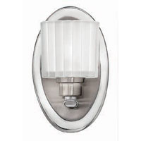 Hinkley Lighting Pia 1 Light Bath Vanity in Brushed Nickel 5170BN photo thumbnail