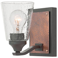 Jackson 1 Light 5 inch Buckeye Bronze Vanity Light Wall Light