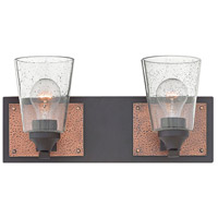 Jackson 2 Light 16 inch Buckeye Bronze Bath Light Wall Light