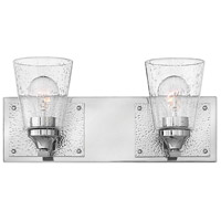 Jackson 2 Light 16 inch Polished Nickel Bath Light Wall Light