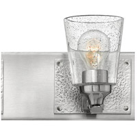 Hinkley 51823BN Jackson 3 Light 24 Inch Brushed Nickel Bath Light Wall Light,  Clear Seedy