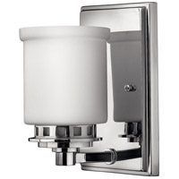Ashley 1 Light 5 inch Chrome Bath Sconce Wall Light