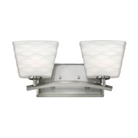 Hinkley Lighting Tory 2 Light Bath Vanity in Brushed Nickel 5202BN