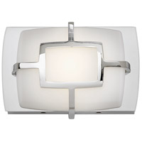 Hinkley 52100PN Sisley LED 7 inch Polished Nickel Bath Sconce Wall Light