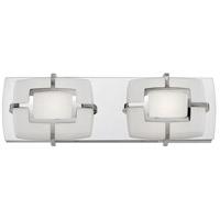 Hinkley 52102PN Sisley LED 15 inch Polished Nickel Bath Bar Wall Light