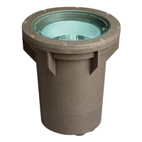 Hinkley Lighting Outdoor Line Volt Landscape Well in Bronze 52175BZ