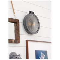 Hinkley 2722DZ Westport 2 Light 13 inch Aged Zinc Outdoor Wall Mount in Incandescent, Clear Glass alternative photo thumbnail