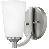 Sadie 1 Light 6 inch Brushed Nickel Bath Sconce Wall Light