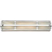 Hinkley 5234CM Winton 4 Light 26 inch Chrome Bath Light Wall Light in Incandescent
