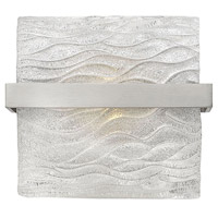 Chloe 1 Light 9 inch Brushed Nickel Bath Vanity Wall Light