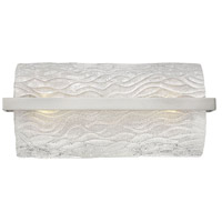 Chloe 2 Light 17 inch Brushed Nickel Bath Vanity Wall Light