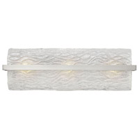Chloe 3 Light 25 inch Brushed Nickel Bath Vanity Wall Light
