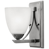 Pinnacle 2 Light 5 inch Antique Nickel Bath Sconce Wall Light in 1