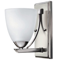 Pinnacle 2 Light 5 inch Chrome Bath Sconce Wall Light in 1