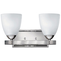 Hinkley 5252CM Pinnacle 2 Light 14 inch Chrome Bath Light Wall Light
