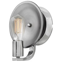 Hinkley 5260PN Boyer 1 Light 7 inch Polished Nickel Bath Sconce Wall Light