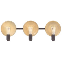 Boyer 3 Light 27 inch Oil Rubbed Bronze Bath Light Wall Light