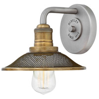 Hinkley 5290AN Rigby 1 Light 8 inch Antique Nickel Bath Sconce Wall Light