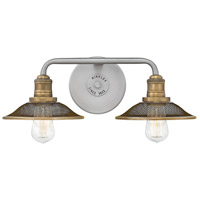 Rigby 2 Light 19 inch Antique Nickel Bath Light Wall Light