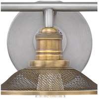 Hinkley 5293AN Rigby 3 Light 27 inch Antique Nickel Bath Light Wall Light alternative photo thumbnail