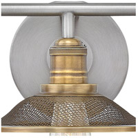 Hinkley 5293AN Rigby 6 Light 27 inch Antique Nickel/Heritage Brass Bathroom Vanity Light Wall Light alternative photo thumbnail