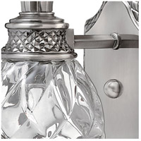 Hinkley 5310PL Plantation 1 Light 5 inch Polished Antique Nickel Bath Sconce Wall Light alternative photo thumbnail