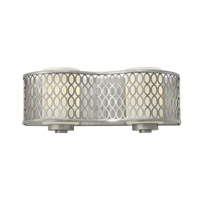 Hinkley 53242BN Jules 2 Light 14 inch Brushed Nickel Bath Wall Light