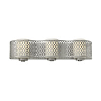 Jules 3 Light 22 inch Brushed Nickel Bath Wall Light