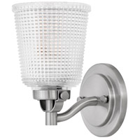 Hinkley 5350PL Bennett 1 Light 5 inch Polished Antique Nickel Bath Sconce Wall Light