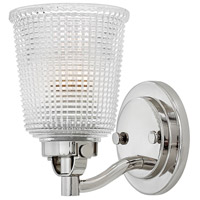 Hinkley 5350PN Bennett 1 Light 5 inch Polished Nickel Bath Sconce Wall Light