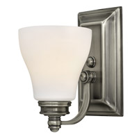 Claire 1 Light 5 inch Antique Nickel Bath Wall Light