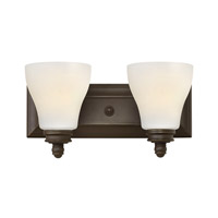 Hinkley Lighting Claire 2 Light Bath in Oil Rubbed Bronze 53582OZ