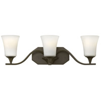 Hinkley 5363OB Brantley 3 Light 24 inch Olde Bronze Bath Light Wall Light
