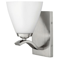 Hinkley 5370BN Josie 1 Light 5 inch Brushed Nickel Bath Sconce Wall Light photo thumbnail