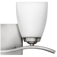 Hinkley 5372BN Josie 4 Light 16 inch Brushed Nickel Bathroom Vanity Light Wall Light alternative photo thumbnail