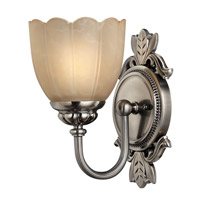 Hinkley 5390PL Isabella 1 Light 6 inch Polished Antique Nickel Bath Vanity Wall Light