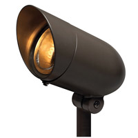 Hinkley 54000BZ-LED30 Signature 120V 8.5 watt Bronze Landscape Spot Accent in LED 30 Degree Spot, Line Volt