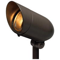 Hinkley 54000BZ Signature 120V 75 watt Bronze Landscape Spot Light in Incandescent, Line Voltage