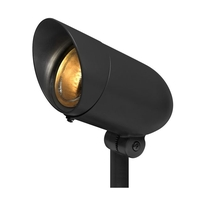 Hinkley 54000BK Signature 120v 75 watt Black Landscape Spot Light