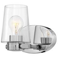 Hinkley 5400CM Branson 1 Light 9 inch Chrome Bath Light Wall Light